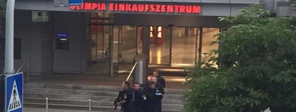 Almanya'daki AVM'de silahlı saldırı; en az 6 kişi hayatını kaybetti