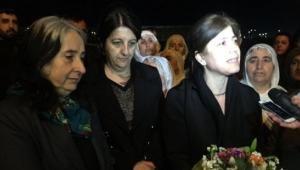 HDP'li vekiller Nursel Aydoğan ve Meral Danış Beştaş tahliye edildi