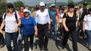 11. Gün: 'Adalet Yürüyüşü'ne tutuklu gazetecilerin yakınları da katıldı: Yanımızda onları da hissederek yürüyoruz
