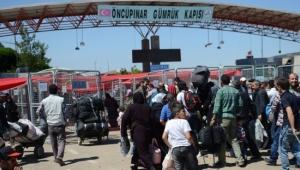 110 bin Suriyeli bayram için ülkesine gitti