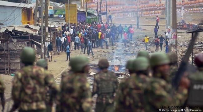 Kenya'da seçim protestolarında 11 ölü