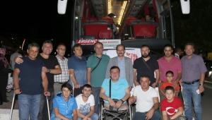 Uşak Belediyesi Gaziler ve Aileleri İçin Gezi Düzenledi
