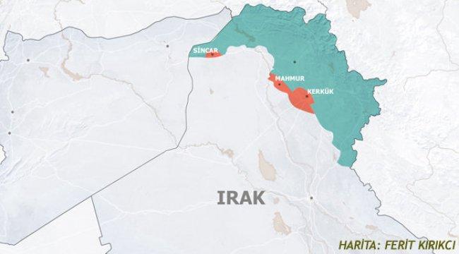 Barzani tepetaklak oldu! Harita bir günde değişti