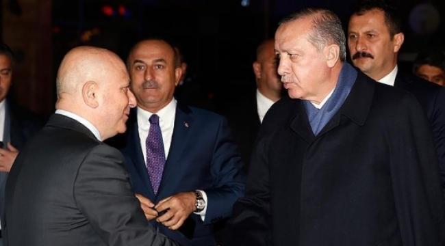 Cumhurbaşkanı Erdoğan, yoğun bakımdaki Deniz Baykal'ı ziyaret etti