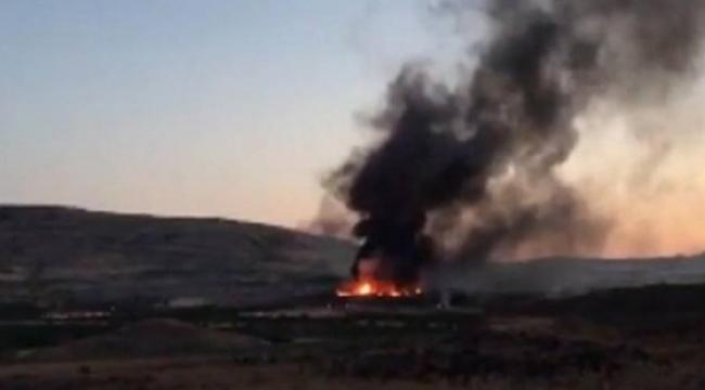 Diyarbakır'da askeri mühimmat deposunda yangın