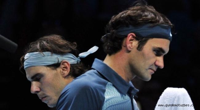 Federer ve Nadal 38'inci randevuda