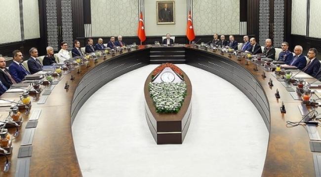 MGK: Türk hava sahasının Kuzey Irak'a kapatılması tavsiye edilmiştir