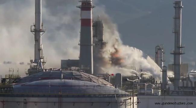 Tüpraş'taki patlamayla ilgili 7 kişi gözaltına alındı