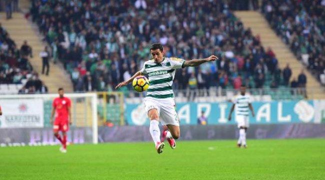 Bursaspor'un Forvetleri Kayıp
