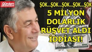 SARIYER: CHP'Lİ BAŞKAN ŞÜKRÜ GENÇ HAKKINDA 5 MİLYON DOLAR RÜŞVET ALDI İDDİASI!