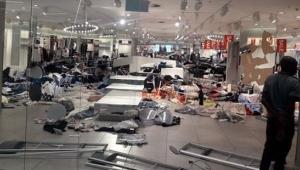 Irkçılıkla suçlanan H&M'in mağazalarına saldırı