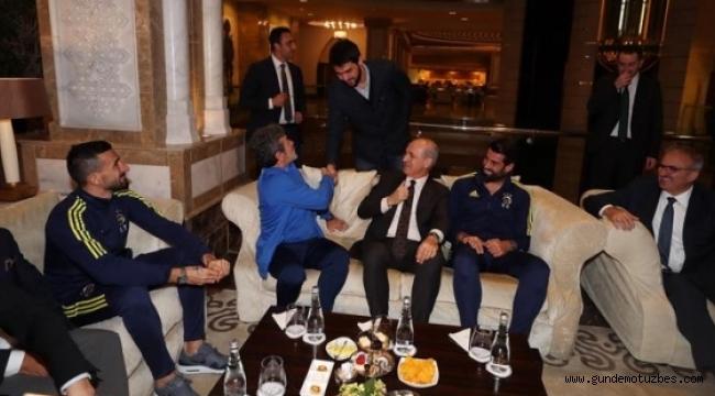 Numan Kurtulmuş'tan Fenerbahçe ziyareti