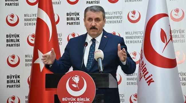 Cumhurbaşkanı Erdoğan, Destici ile görüştü