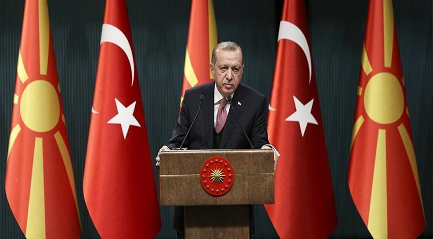 Erdoğan: Afrin'e doğru hareketlenen rejim güçleri, top atışlarıyla geri çekildi; o dosya şimdilik kapandı