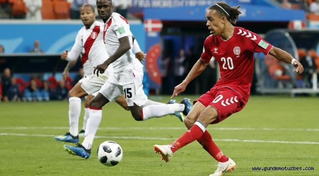 2018 FIFA Dünya Kupası: Peru: 0 - Danimarka: 1