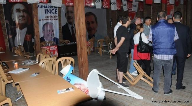 Abdüllatif Şener'in seçim bürosuna saldırı: Mafya yöntemleriyle seçim kampanyasına hayır