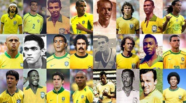 Dünya Kupası'nın lideri Brezilya!