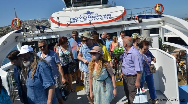 İzmir-Foça gemi seferleri başlıyor