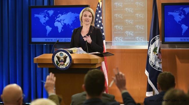 ABD'den açıklama: Türkiye ile ilerleme Rahip Brunson'ın eve dönüşü ile mümkündür
