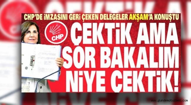 CHP'li delege, Akşam'ı yalanladı: Öyle bir şey söylemedim