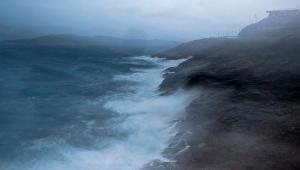 Kasırga Yunanistan'ı vurmaya başladı