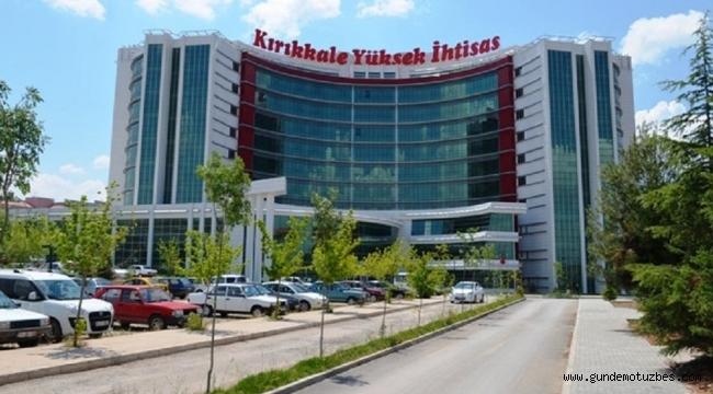 Kırıkkale Yüksek İhtisas Hastanesi'nde 21 doktora gözaltı