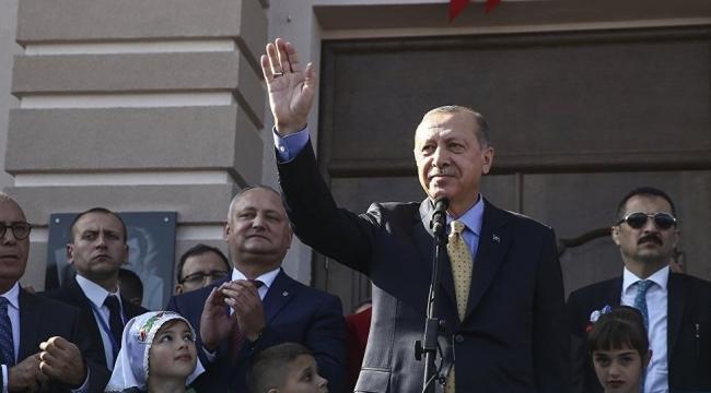 Erdoğan: Komrat'ta başkonsolosluğumuzu açacak, başkonsolosumuzu da atayacağız