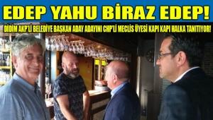 DİDİM: AKP'Lİ BELEDİYE BAŞKAN ADAY ADAYI KABAK'I KAPI KAPI DOLAŞARAK CHP'Lİ MECLİS ÜYESİ EGE HALKA TANITIYOR!