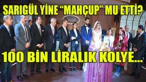 CHP İSTANBUL KULİSLERİNDE SARIGÜL'ÜN 100 BİN LİRALIK TAKI KOLYESİ KONUŞULUYOR...