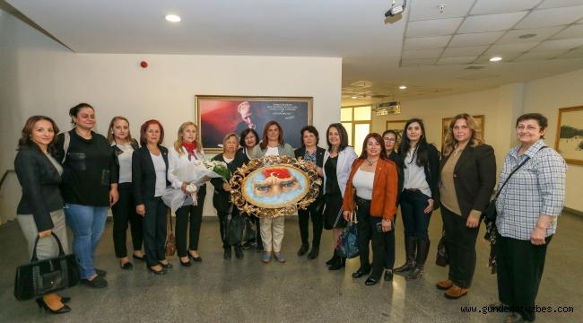 Kadın Haklarını Koruma Derneğinden Başkan Çerçioğlu'na ziyaret