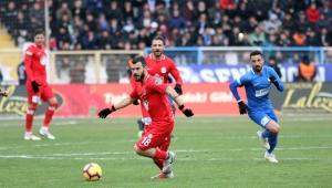 Spor Toto Süper Lig: BB Erzurumspor: 1 - Antalyaspor: 0