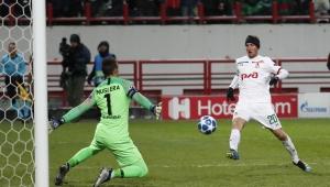 UEFA Şampiyonlar Ligi: Lokomotiv Moskova: 2 - Galatasaray: 0