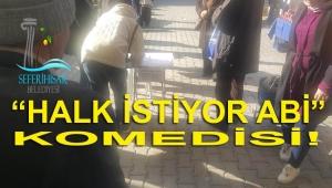 SEFERİHİSAR'DA İMZA KOMEDİSİ!