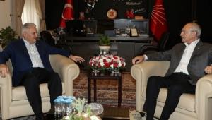 TBMM Başkanı Yıldırım, Kılıçdaroğlu ile görüştü