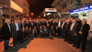Bozdoğanlı muhtarlardan Başkan Çerçioğlu'na ziyaret