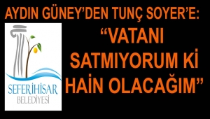 CHP ADAY ADAYI AYDIN GÜNEY'DEN TUNÇ SOYER'E İBRETLİK ÇIKIŞ!