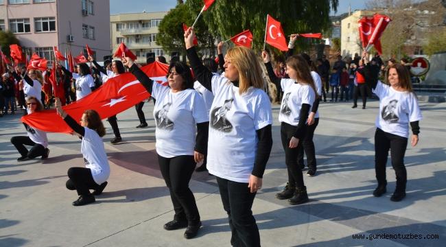 Atatürk'ün Söke'ye gelişinin 95. yılı törenle kutlandı
