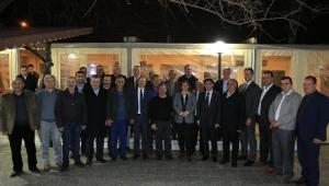 Başkan Çeçrioğlu, İncirliova'da muhtarlarla bir araya geldi