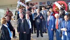 DSP Lideri Aksakal Didim seçim ofisini açtı