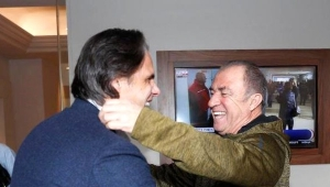 Nuno Gomes, Fatih Terim'i Ziyaret Etti