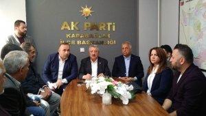 AK Parti'li Nasır'dan