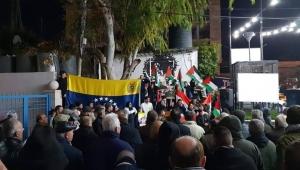Filistinlilerden Maduro'ya destek gösterisi