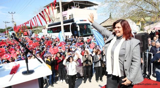"""Özlem Çerçioğlu; """"Aydın tarımını yeniden şaha kaldıracağız"""""""