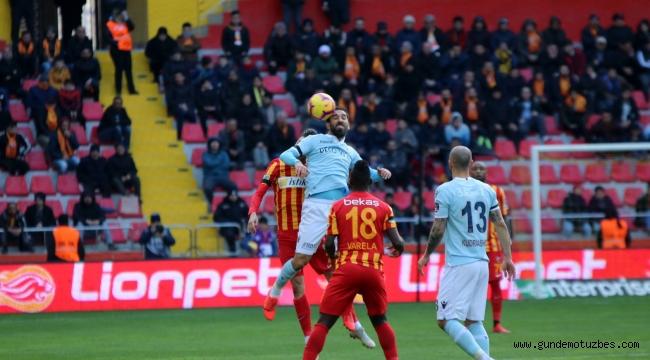 Spor Toto Süper Lig: İM Kayserispor: 1 - Medipol Başakşehir: 1