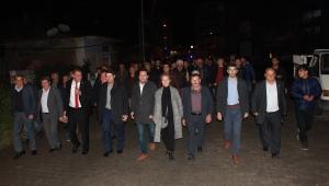 Tuna, Serdaroğlu Mahallesi'ni ziyaret etti