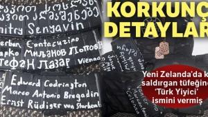 Yeni Zelanda saldırganı tüfeğine: 'Türk Yiyici' ismini vermiş