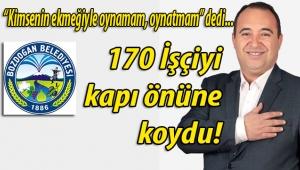 AKP'li Aydın Bozdoğan Belediye Başkanı Altınbaş'tan ilk icraat: 170 işçi çıkardı!