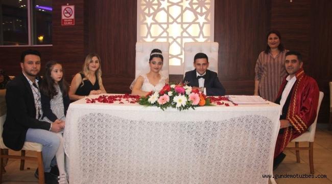 Başkan Kayalar ilk nikahını kıydı