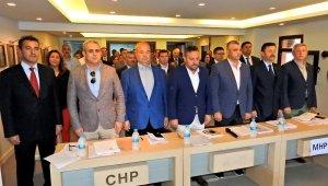 Çeşme Belediye Meclisi'nin yeni dönemi seçimlerle başladı