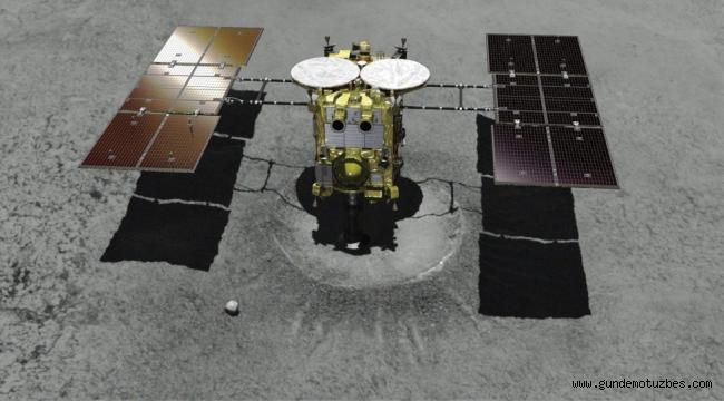 Japonya bir asteroid üzerinde ilk yapay krateri açtı